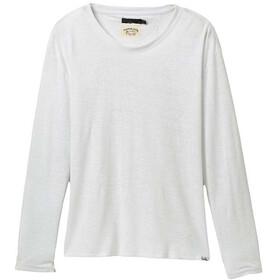 Prana Cozy Up Maglietta a maniche lunghe Donna, bianco